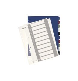 Register PC-beschriftbar A4+ Style, 1-10 multicolor