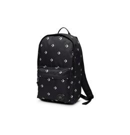 Edc Poly Backpack Star Chevron Repeat Black,19L