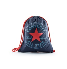 Converse Cinch Bag Deep Navy/Scarlet Red, 14L