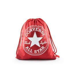 Converse Cinch Bag Scarlet Red/White, 14L