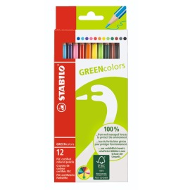 Greencolors Farbstifte 12er Etui