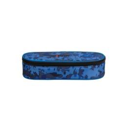 Pencil Case Blue Camouflage 24,5x5,5x11,5cm