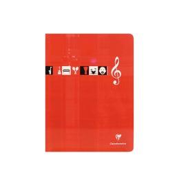 Musikheft A4 weiss 24 Blatt