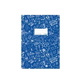 Heftschoner A4 blau