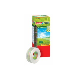 Klebeband Eco & Clear 19mmx33m 8 Rollen
