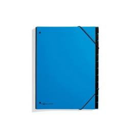 Pultordner Trend A4 hellblau 12 Fächer