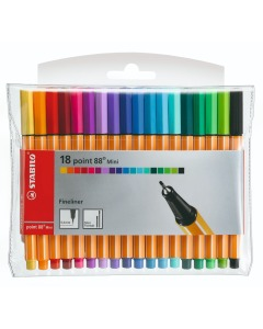 Point 88 MINI Fineliner 18er Etui