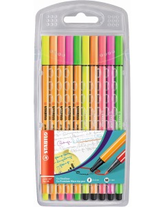 Point 88/Pen 68 NEON MIX 10er Etui