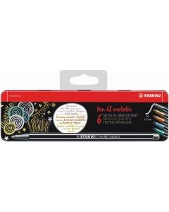 Pen 68 metallic 6er Metalletui