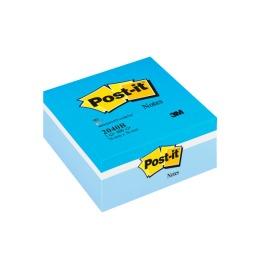 Notes Würfel 76x76mm blau 1x400 Blatt