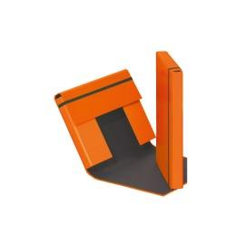 Sammelbox Trend A4 Gummizugverschluss orange