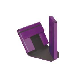 Sammelbox Trend A4 Gummizugverschluss lila