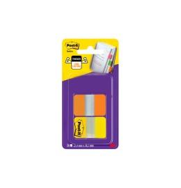 Index Strong 38x25,4mm orange/gelb, 16 Index