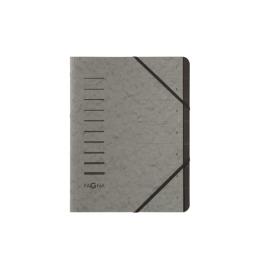 Ordnungsmappe 7 Fächer grau 1-7