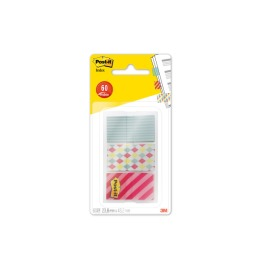 Index Candy Colle. 23,8x43,2mm blau, weiss, rot 60 Index