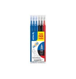 Refill FriXion Refill 3x blau, 2x rot, 1x schwarz