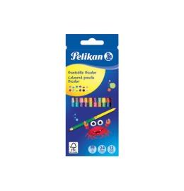 Buntstifte Bicolor 12 Stiften