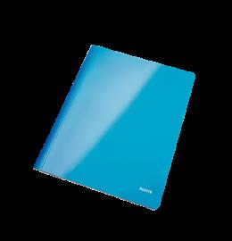 Schnellhefter WOW A4 blau metallic