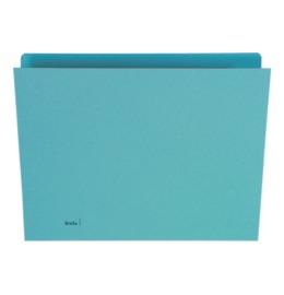 Vertikalmappe A4 blau 100 Stück