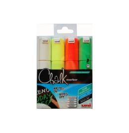 Chalk Marker 8mm 4 Farben, Etui