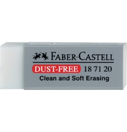 Radierer Dust-Free transparent