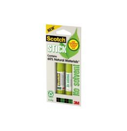 Klebestift Green Stick permanent 8g, 2 Stück