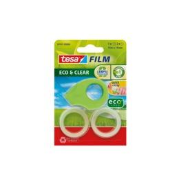 Tape eco & clear Mini 19mmx10m grün 2 Stück