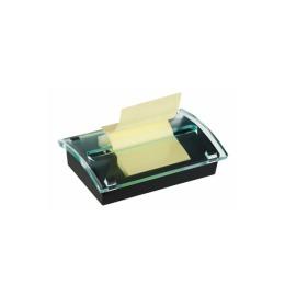 Z-Notes Dispenser 76x76/127mm schwarz/transp.