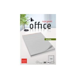 Notizblock Office Sycling A4 kariert, 65g 100 Blatt