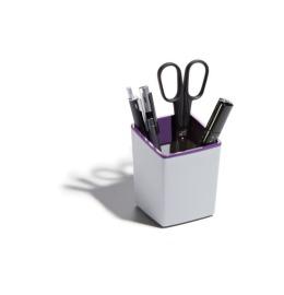 Stifteklöcher 79x100x79mm grau/violett