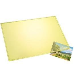 Schreibunterlage Durella gelb-transp. 53x40cm