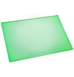 Schreibunterlage Durella grün-transp. 53x40cm