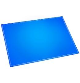 Schreibunterlage Durella blau-transp. 53x40cm