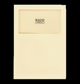 Sichthülle Ordo Classico A4 hellchamois,o. Linien 100 Stk.