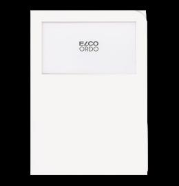 Sichthülle Ordo Classico A4 weiss, ohne Linien 100 Stück
