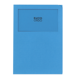Sichthülle Ordo Classico A4 intensivblau,o.Linien 100 Stk.