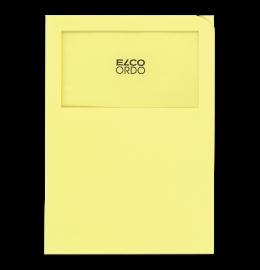 Sichthülle Ordo Classico A4 gelb, ohne Linien 100 Stück