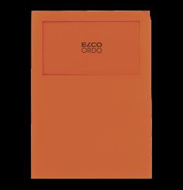 Sichthülle Ordo Classico A4 orange, ohne Linien 100 Stück