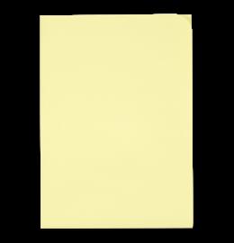 Sichthülle Ordo Discreta A4 gelb, ohne Fenster 100 Stück
