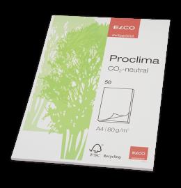 Schreibblock Proclima A4 blanko, 80g 50 Blatt