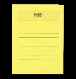 Sichthülle Ordo volumino A4 gelb 50 Stück