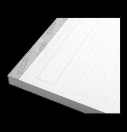 Schreibblock Prestige A4 grau 80 Blatt