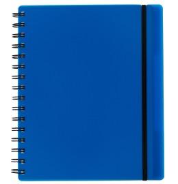 Notizbuch Easy KolmaFlex A5 blau, kariert 5mm 100 Bl.