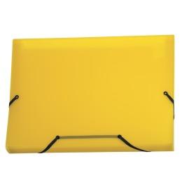 Sammelmappe Daily Easy A4 gelb, 13 Taschen, Kolmaflex