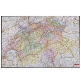 Schreibunt. Undercover 58x38cm Schweizer Karte