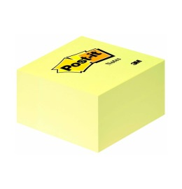 Würfel 76x76mm gelb/450 Blatt