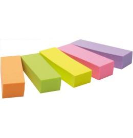 Marker 15x50mm 5-farbig/5x100 Blatt