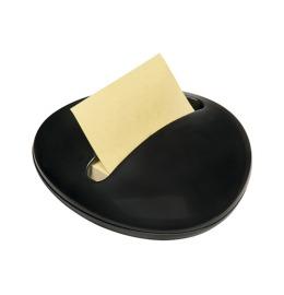 Dispenser Stone schwarz Z-Notes gelb/100 Blatt 76x76mm