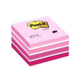 Würfel 76x76mm pink/450 Blatt