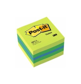 Würfel Mini Lemon 51x51mm 3-farbig ass./400 Blatt